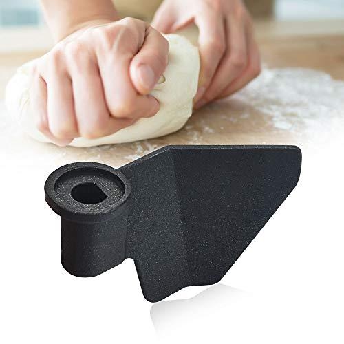 MONSIVILIA Pala de repuesto universal para máquina panificadora de pan de acero al carbono, revestimiento antiadherente, para máquina de hacer pan