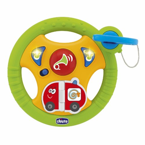 Chicco - Volante Actividades Baby Driver 5 MelodiasSonidos Y Luces 25-70285