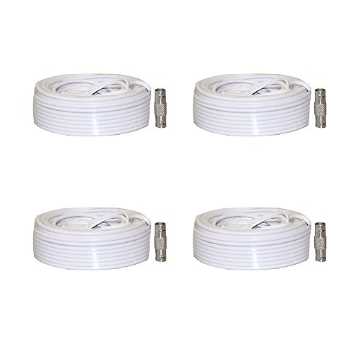 Set of 4 Generic SEA-C101 (60ft) Samsung Security Camera Cable for SDS Systems