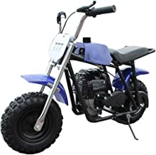 X-PRO 40cc Kids Mini Dirt Bike Pit Bike Gas Power Bike Off Road Motorcycle,Blue