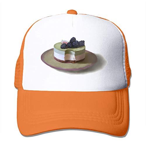wu Dessert Unisex Strapback Baseball Caps Erwachsene Mesh Rock Hats Adjustable Snapback