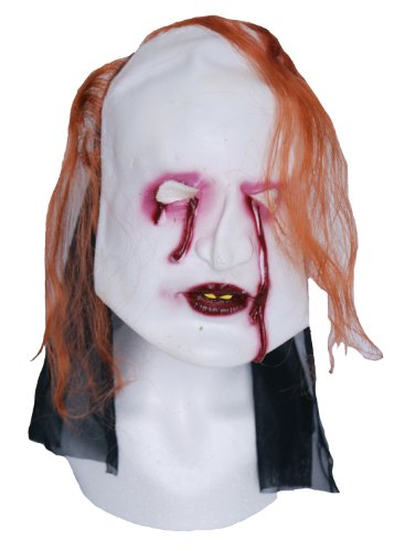 Zombie caoutchouc Bloody Eyes Masque visage au gingembre
