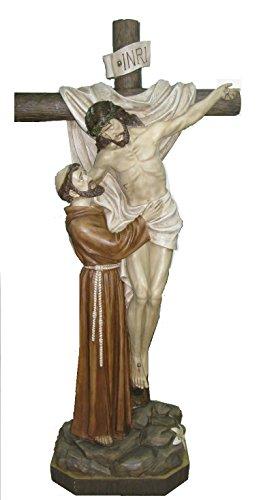 San Francesco DEPOSITION Jesus aus Kunstharz cm.150Riesen-Statue aus Harz by Paben