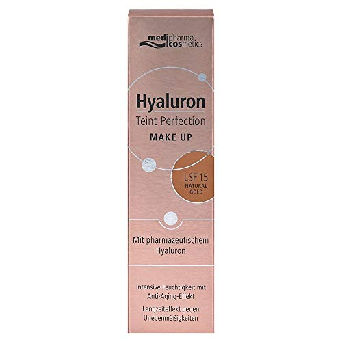 Theiss Naturwaren HYALURON TEINT Perfection Make-up natural gold