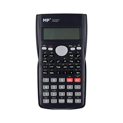 MP - Calculadora Científica con 240 Funciones - Negra