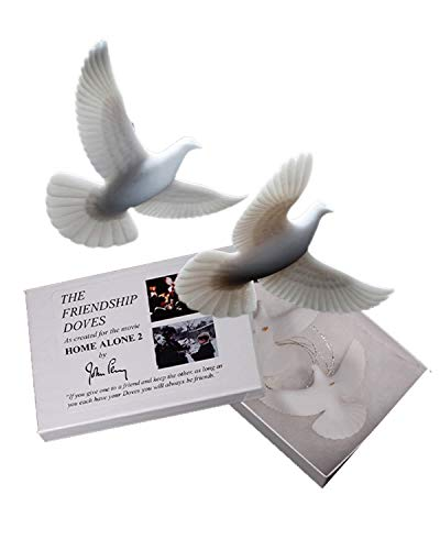 John Perry Christmas Turtle Doves Turteltauben Freundschafts Symbol Weihnachten Liebe 2 Stück Set vom Offiziellen Künstler des Films