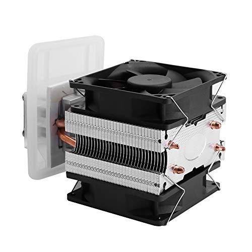Sistema de refrigeración de refrigeración de semiconductores Kit DIY 12V 6A Peltier termoeléctrico para mini acondicionador de aire