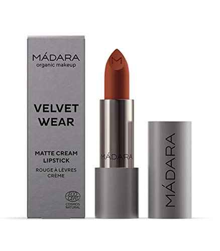 MÁDARA Organic Skincare | VELVET WEAR Matte Creme Lippenstift #33 MAGMA - 3.8g