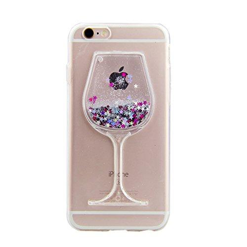 IKALITE Bling Glitter Flüssige Hülle für iPhone SE 2020/ iPhone 8/ iPhone 7