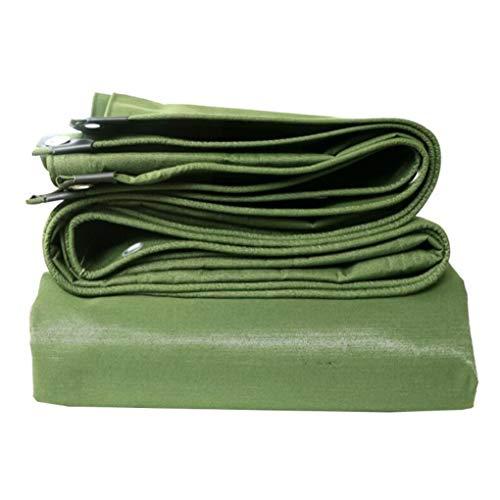 DFREW Green 100% Waterproof and Uv Protected Heavy Duty Tarpaulin- High Density Woven Polyethylene and Double Laminated,3Mx6M