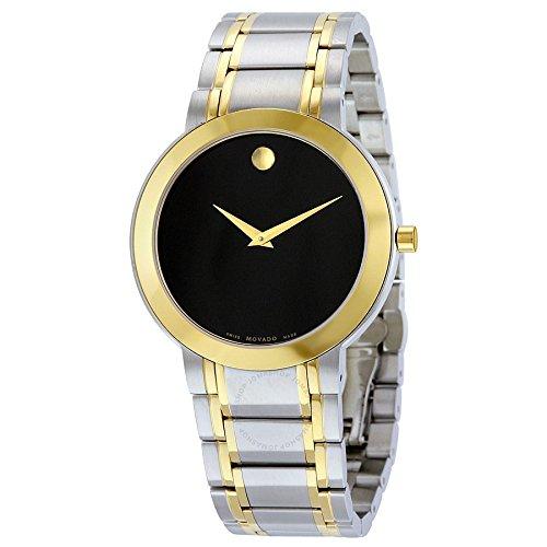 Movado - Reloj suizo de cuarzo y acero inoxidable para mujer, color dos tonos (modelo: 0606950)