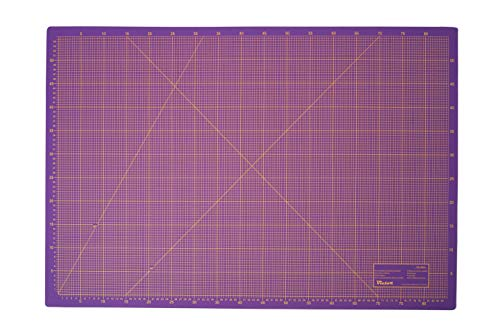 Schneidematte 3-lagig und selbstheilend violett pink 60x90cm A1