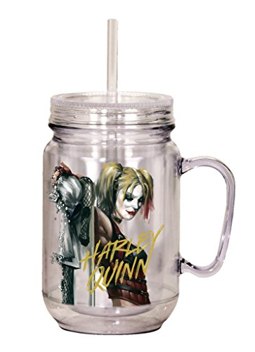 41k5UhvIghL Harley Quinn Travel Mugs