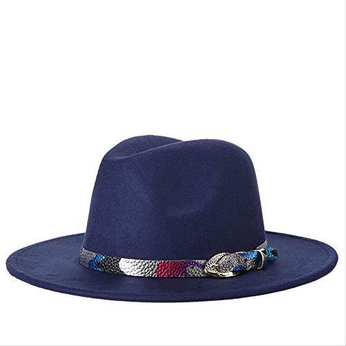 FSSHNZZ platte wollen jazz hoed herfst en winter