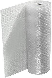 Rollo de plástico de burbujas (Ancho 1 metro Largo 25 metros) para envolver, protección de objetos frágiles, embalaje, transporte y mudanzas.