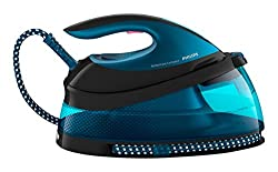 Ultra-fast ironing with 120 g/min continuous steam: Helps tackle thick fabrics, quickly removing tough creases No burns guaranteed: Iron everything from silk to jeans without adjusting the temperature thanks to OptimalTEMP technology Easy fill: 1.5 L...