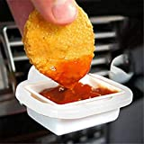 2pcs Removable Car Sauce Holders Stand Dip Clip in-Car Ketchup Rack Basket Dipping Sauces Car Interior Car Styling Dropshipping