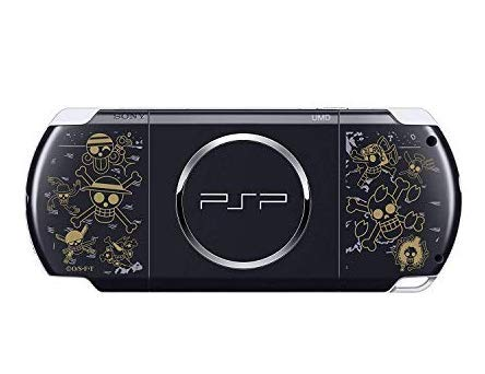 Sony PSP Slim 3000 Series Handheld Gaming Console with 2 Batteries (One Piece)(Renewed)