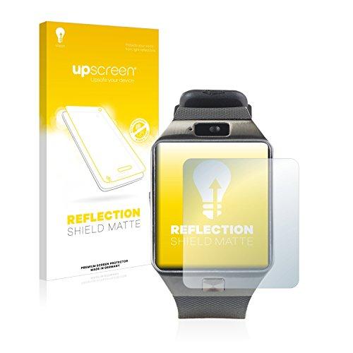 upscreen Entspiegelungs-Schutzfolie kompatibel mit Simvalley Mobile PW-430.mp PX-4057 – Anti-Reflex Bildschirmschutz-Folie Matt