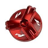 GUIFUG Cubierta de Aceite del Motor Enchufe de Drenaje de Aceite Motocicleta de Aluminio Enchufe del...