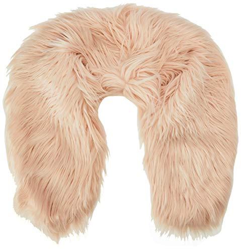 Dorothy Perkins Damesblush Mongoolse Faux Fur Sjaal (Maat: Een)