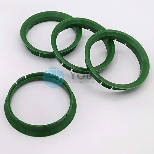 ASA 1 x Anello di Centraggio anello di distanza per cerchi in lega r21 72,5-67,1 mm Alloytec
