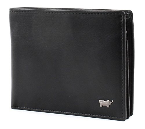 Braun Büffel Edition Wallet Quer Black