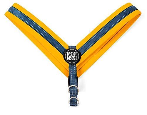 Max & Molly 4894512017269 Matrix Orange Q-Fit Hundegeschirr Neopren Gepolstert Mit reflektierenden Nähten, M, 71 g