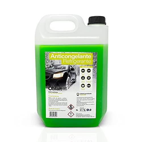 MUNTRADE Anticongelante Coche Orgánico G12, Verde, 5 litros