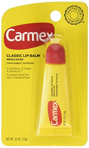 Carmex Classic Lip Balm, Medicated, 0.35 oz