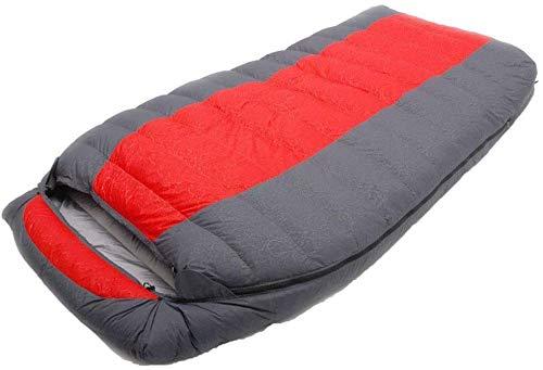 Sac de couchage Durable, Respirant, Chaud Matelas de Couchage Camping enveloppe étanche intérieur et extérieur Confortable Robe Adulte Respirant, Violet, 1800 g, la Taille Nom: 1800