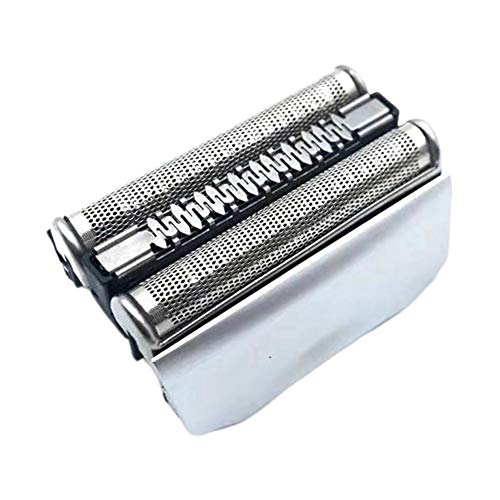 Testina di Ricambio Rasoio da Barba Elettrico para Braun 70B 70S Color Argento Compatibile con i Rasoi Series 7 per una Rasatura Ottima ogni Giorno