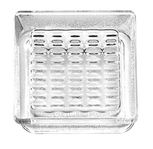 Cristal de ladrillo Pedonable a taza transparente IS CUP 14,5 x 14,5 x ,5 cm - 10 unidades