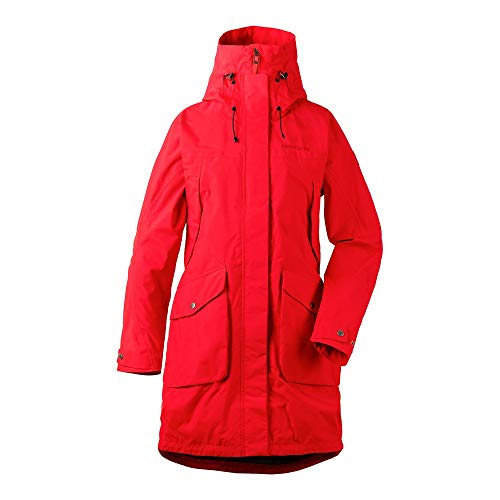 Didriksons Thelma Parka (Modell Sommer 2019) Rot, Damen Freizeitjacke, Größe 40 - Farbe Chili Red