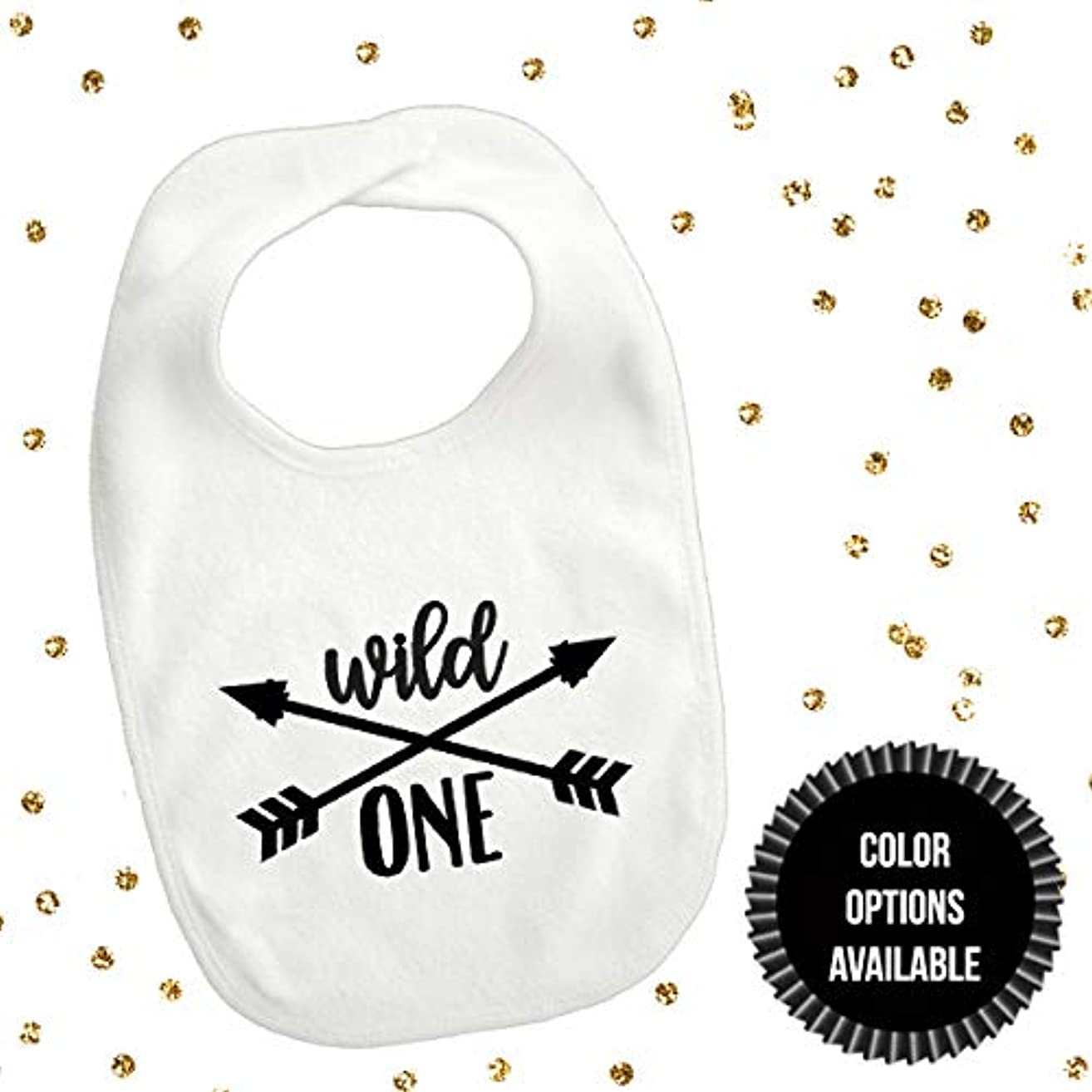 1 piece wild ONE crossed arrows bib toddler boy girl for first birthday boy girl gift cake smash photo prop