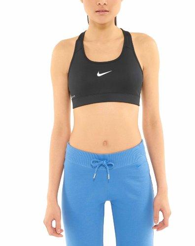NIKE Women's Victory Compression Sports Bra (X-Small, Black)