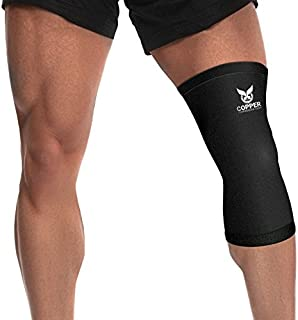 Copper Recovery Knee Sleeve Knee Brace – Best Premium Fit Copper Knee Compression..