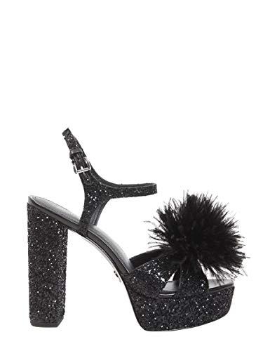 Michael Kors Luxury Fashion Femme 40R8FRHA1D001 Noir Sandales   Saison Outlet