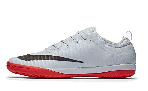 Nike Mercurial X Finale II SE Interior Adulto 46 Bota de fútbol - Botas de fútbol (Interior, Adulto, Masculino, Suela para Interiores, Negro, Naranja, Blanco, Monótono)