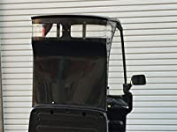 ハンター ジャイロキャノピー用 ハイバックガードパネル クリアウインド付き 黒ゲルコート デッキタイプ用 ジャイロキャノピー