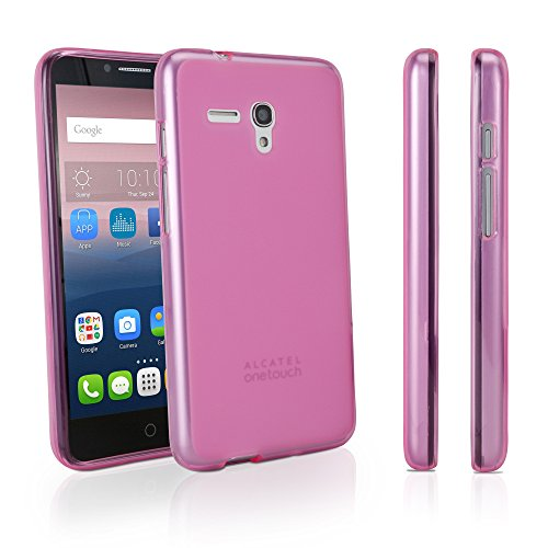 Alcatel OneTouch POP 3 (5,5) GSM 5054 Fall, BoxWave® [Arctic Frost Crystal Slip] flexibel, Form, TPU Case für Alcatel OneTouch POP 3 (5,5) GSM 5054 – Cosmo Pink