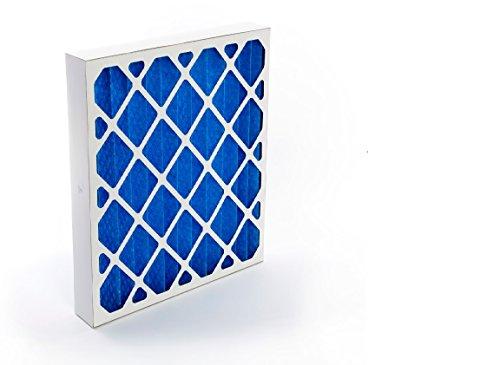 GVS Filter Technology G4P.24.24.2.SUA001.002 Paneles filtrantes plisados G4, Azul/Blanco (Pack 2)