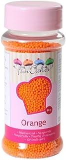 FunCakes, Sprinkle para repostería (Naranja) - 80 gr.