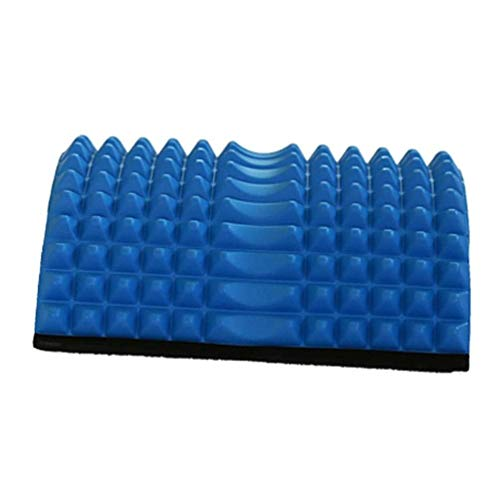YY_Z Sit-ups Brett Massagemultifunktions-Yoga Body Stretching Ab Mat Core Training Bauchtrainer (Color : Blue)