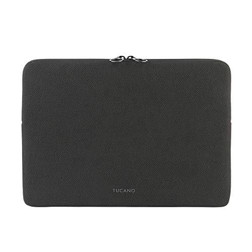 "Tucano - Crespo sleeve custodia per Laptop 12"" in neoprene, Anti Slip System contro le cadute accidentali"
