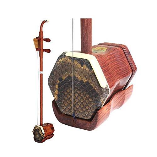 Erhu, Palisander Erhu, Holz Erhu, Erwachsene Kinder Anfänger Praxis spielen Erhu, ethnische Instrumente, (Farbe: Palisander) HUERDAIIT (Color : Rosewood)