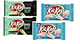 Kit Kat Candy Bars Combo of Kit Kat Duos Mint & Dark Chocolate Wafer & Birthday Cake White Chocolate Limited Edition