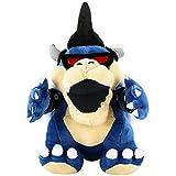 EQUASIS Super Mario Bowser Koopa Stuffed Animals,Mario Stuffed Animals , Mario Soft Stuffed Plush Toy Dark Limited Edition - 12