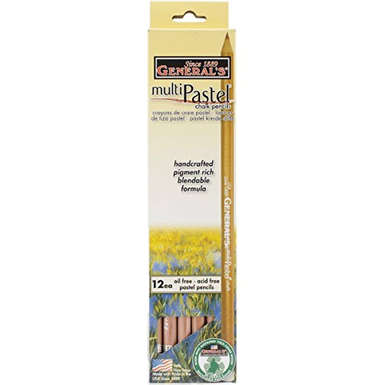 Multipastel (R) Chalk Pencils -White - Box of 12