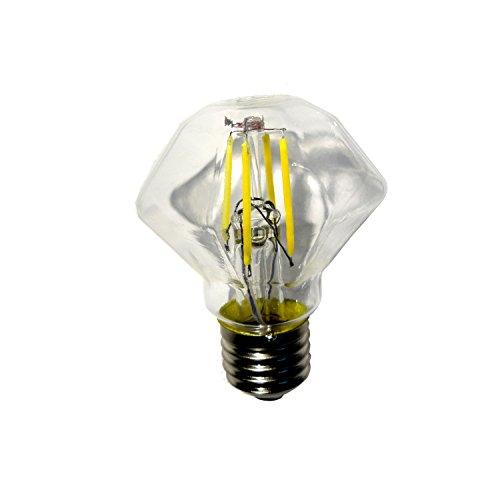 Sterke LED-lampen, E27, 4 W, 9,5 x 6 cm, GLED1455